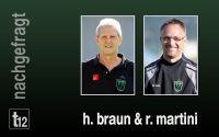 Weiterlesen: Robert Martini erklärt seinen Rücktritt, Abteilungsleiter Horst Braun nimmt Stellung
