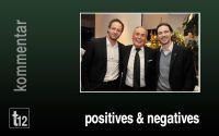 Weiterlesen: Positives und Negatives