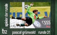 Weiterlesen: Der Spieler der 31. Runde: Pascal Grünwald