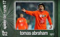 Weiterlesen: Der Spieler der 17. Runde: Tomas Abraham