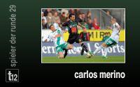 Weiterlesen: Der Spieler der 29. Runde: Carlos Merino