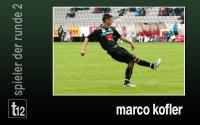 Weiterlesen: Der Spieler der 2. Runde: Marco Kofler