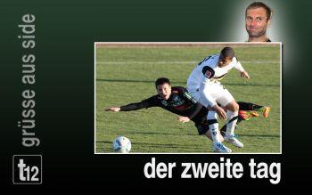 Tag Zwei mit Testspiel gegen Aachen