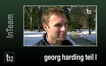 Georg Harding über den Beginn seiner Karriere
