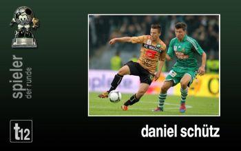 Spieler der ersten Runde: Daniel Schütz