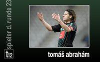 Weiterlesen: Der Spieler der 23. Runde: Tomáš Abrahám