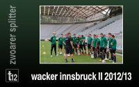 Weiterlesen: Wacker Innsbruck II 2012/2013