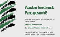 Weiterlesen: Wackerfans gesucht!
