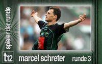 Weiterlesen: Der Spieler der 3. Runde: Marcel Schreter
