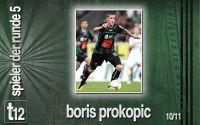 Weiterlesen: Der Spieler der 5. Runde: Boris Prokopic