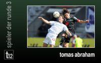 Weiterlesen: Der Spieler der 3. Runde: Tomas Abraham