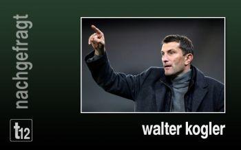 Walter Koller sieht seine Mannschaft als Aussenseiter