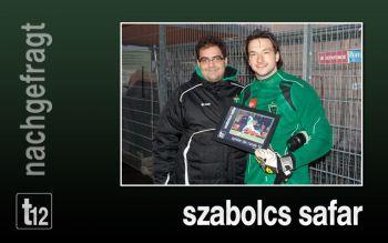 Eine wichtige Stütze der Mannschaft: S. Safar