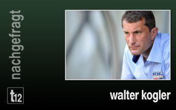 Walter Kogler rechnet sich gegen Mattersburg gute Chancen aus