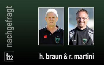 Horst Braun und Robert Martini