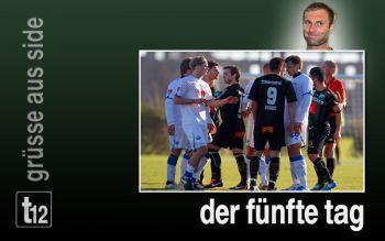 Hitzige Szenen beim Test gegen Paderborn