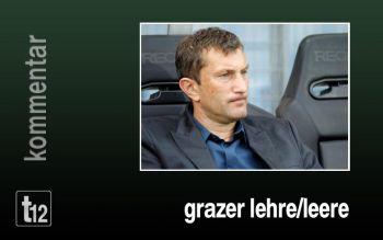 Die Grazer Lehre/Leere