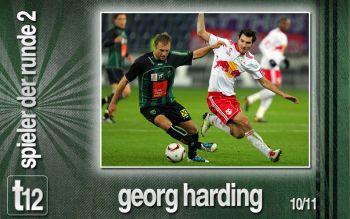 Spieler der 2. Runde: Georg Harding