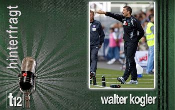 Walter Kogler nach dem Spiel