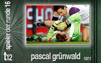Pascal Grünwald zum 4. Mal Spieler der Runde