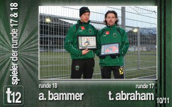 Zum Abschluss Andreas Bammer und Tomas Abraham